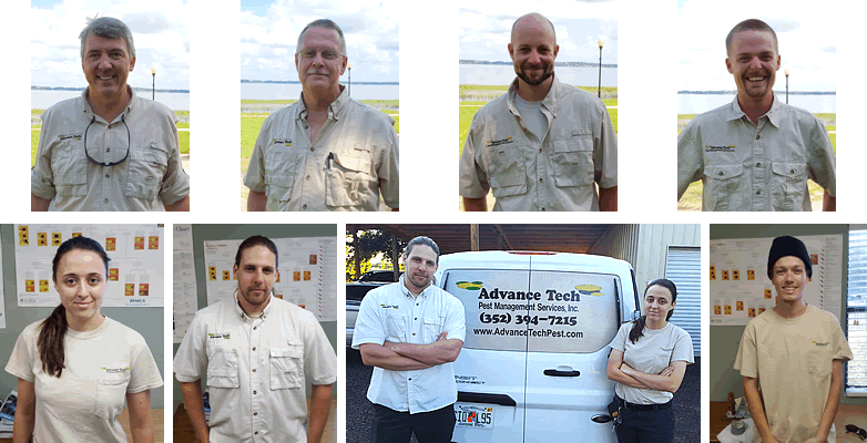 The principle staff of Advanced Tech Pest Management.